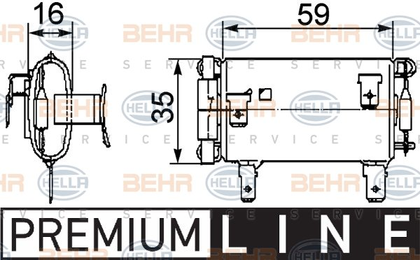 9 ml 351 321-581 Résistance pour Intérieur Ventilateur Dispositif de commande neuf HELLA