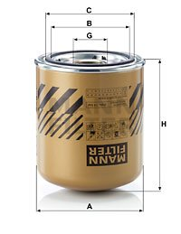 Cartouche de dessicateur, système d'air comprimé