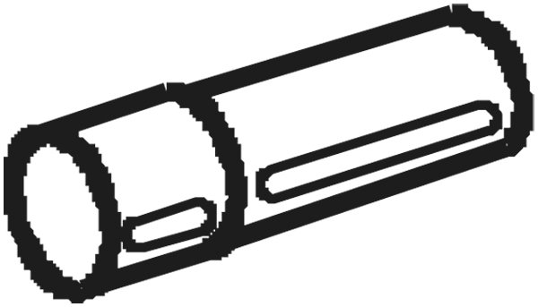 Déflecteur de tuyau de sortie
