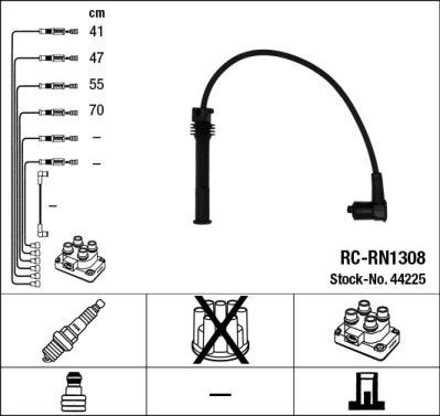 Kit de câbles d'allumage - RC-RN1308