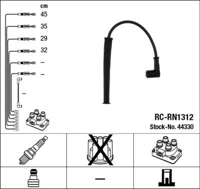 Kit de câbles d'allumage - RC-RN1312