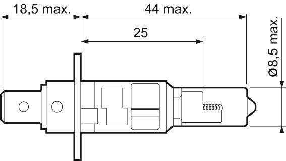 Ampoule, projecteur antibrouillard ESSENTIAL