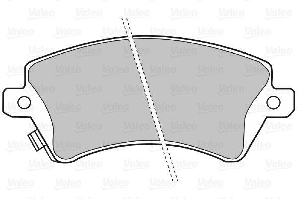 Mintex MDB2257 Lot de plaquettes de frein DISQUE DE FREIN AVANT