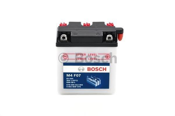 Batterie de démarrage SLI 6V 6Ah