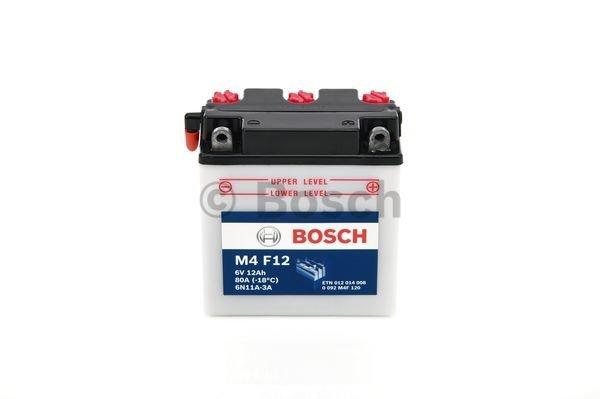Batterie de démarrage M4 Fresh Pack 6V 12Ah
