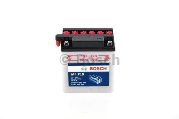 Batterie de démarrage M4 Fresh Pack 12V 3Ah