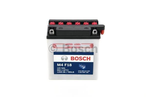 Batterie de démarrage M4 Fresh Pack 12V 5Ah