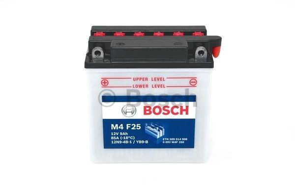 Batterie de démarrage M4 Fresh Pack 12V 9Ah