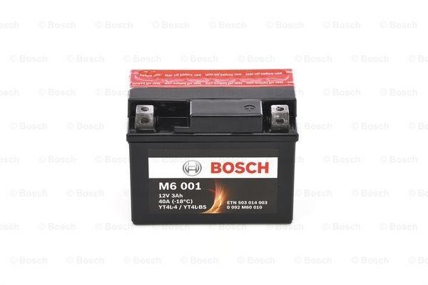 Batterie de démarrage M6 12V 3Ah