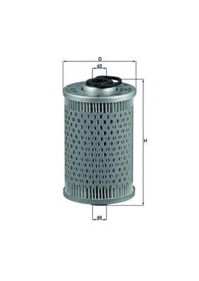 Knecht Filtro de combustible KX 35 para mercedes peugeot pagode j7 Coupe tata w111 403