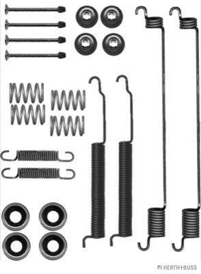 Kit d'accessoires, mâchoire de frein