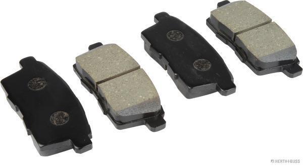 Kit de plaquettes de frein arrière, frein à disque
