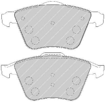 Volvo D/'origine plaquettes frein Avant 30742029 V40 S40 V50
