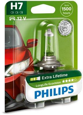 Ampoule, projecteur longue portée LongLife EcoVision