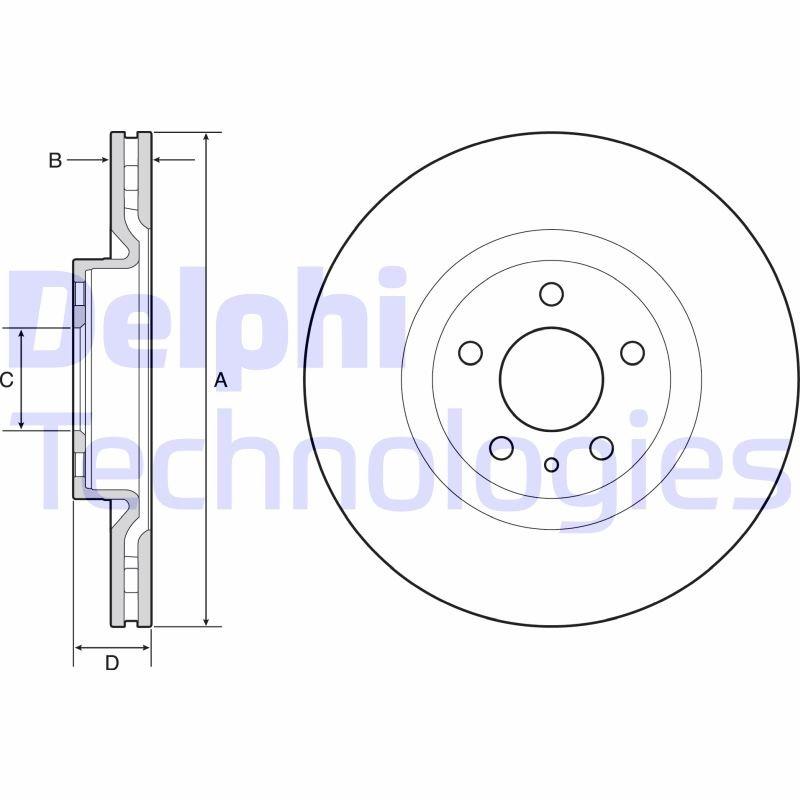 Disque de frein la paire (X2)