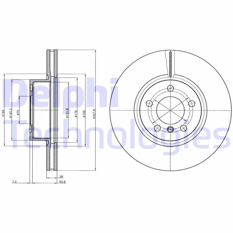 Disque de frein l'unité (X1)