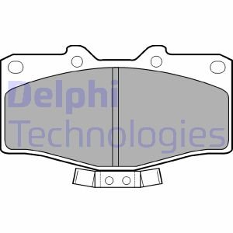 Kit de plaquettes de frein, frein à disque