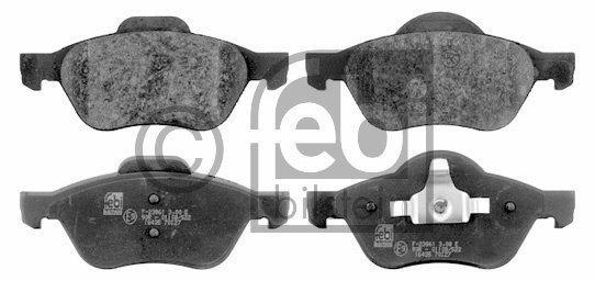 Open Parts BPA0700.02 Plaquette de Frein Avant 4 Pi/èces
