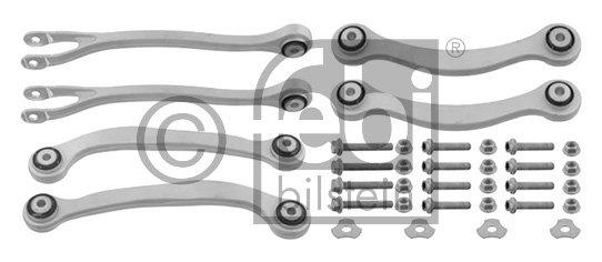 Jeu de bras, suspension de roue
