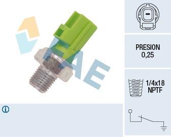 12613 Pression D/'huile Interrupteur Pression D/'Huile Capteur FAE