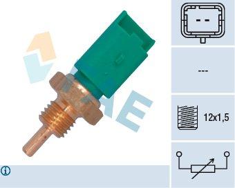 Capteur, température du compartiment moteur