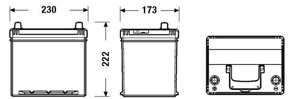 Batterie de démarrage FORMULA **