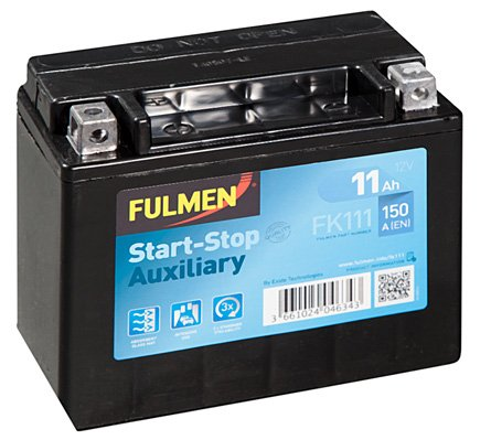 Batterie de démarrage FULMEN Start-Stop Auxiliary