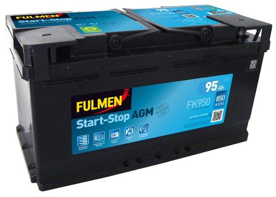 Batterie de démarrage FULMEN Start-Stop AGM