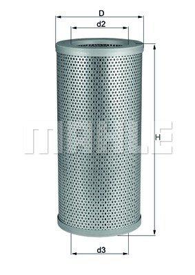 Filtre hydraulique, direction