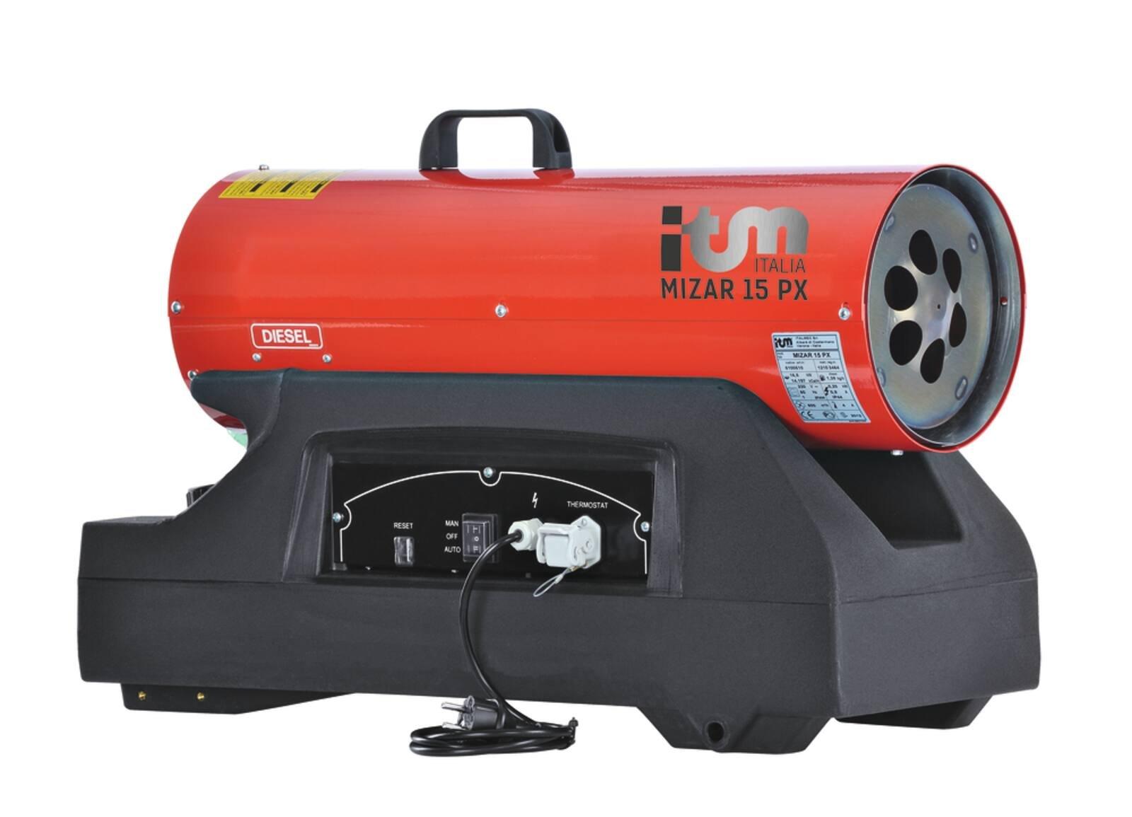 Chauffage GASOIL DIRECT MIZAR PX 15