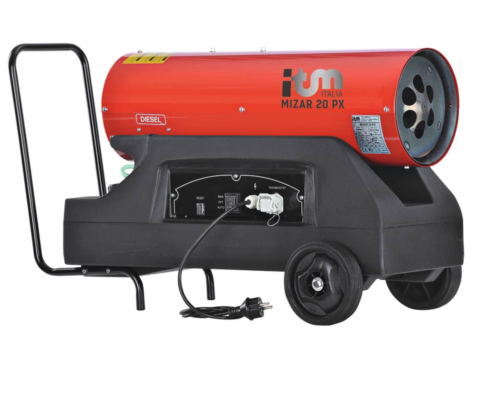 Chauffage GASOIL DIRECT MIZAR PX 20