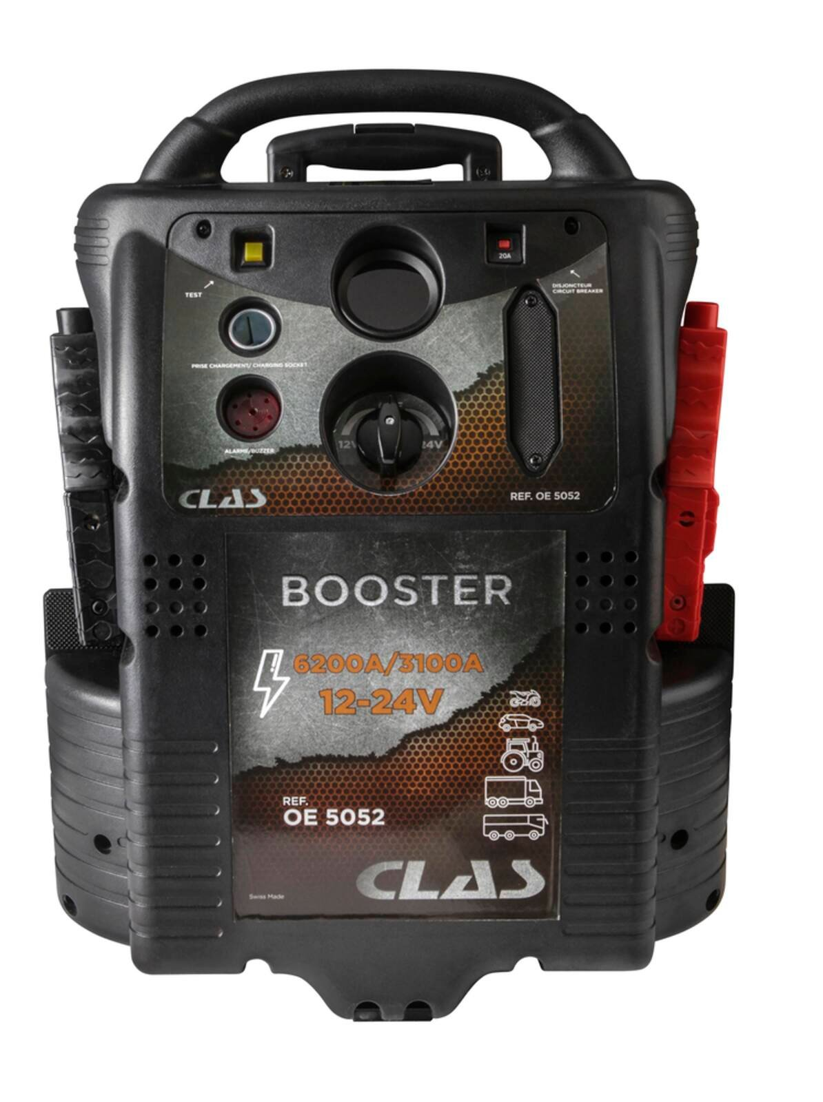 BOOSTER 12-24V 6200A/3100A