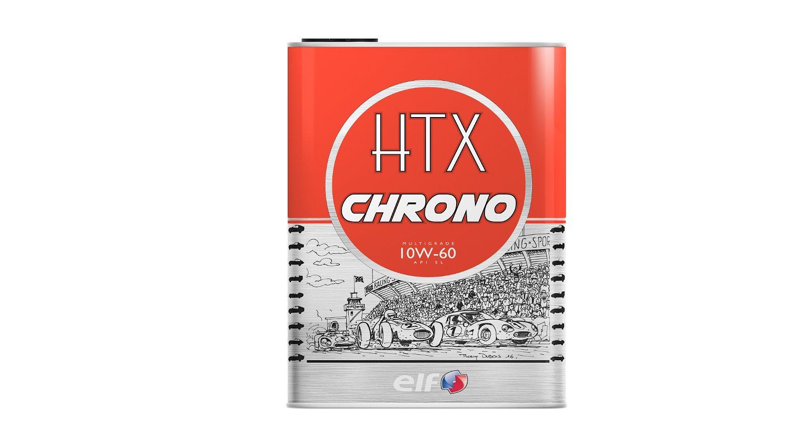 Huile HTX CHRONO 10W60 2L