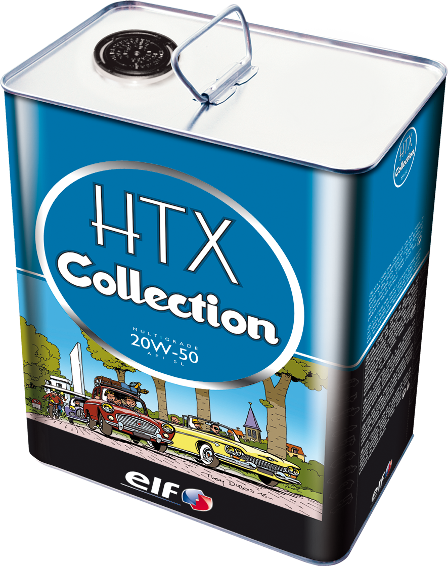 Huile HTX COLLECTION 20W50 5L