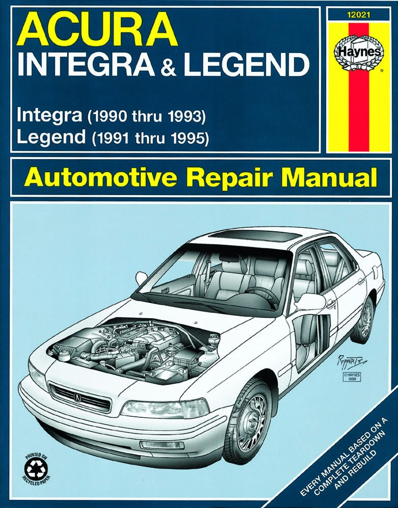 [Manuel US en Anglais] Acura Integra & Legend  '90 -  '95