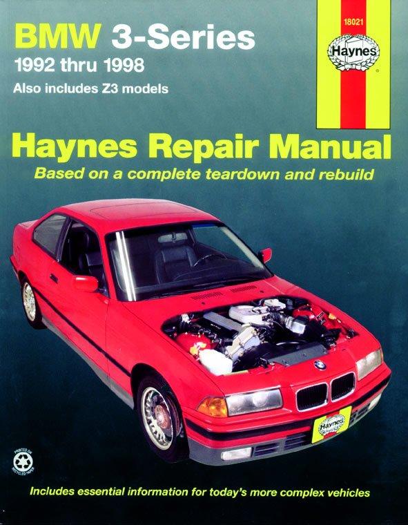 [Manuel US en Anglais] BMW 3-Series 92 -  '98