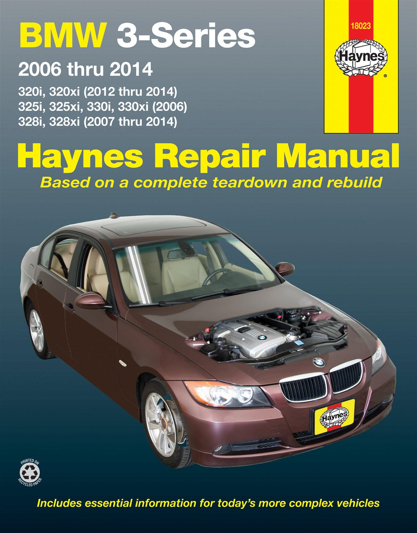 [Manuel US en Anglais] BMW 3-Series  '06 -  '14