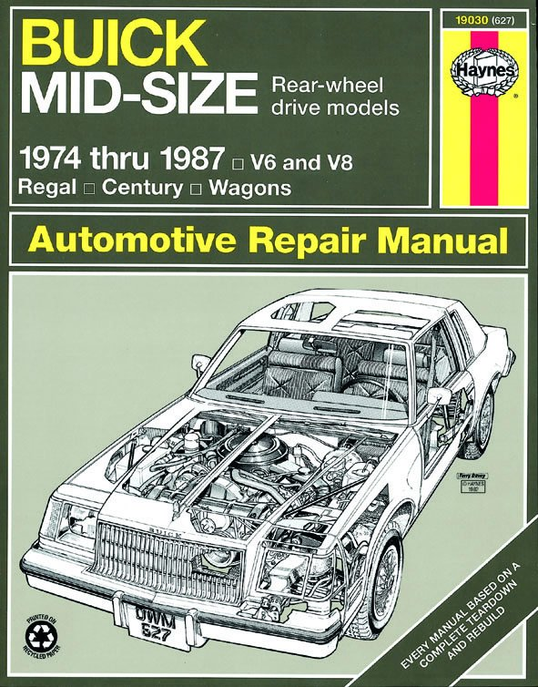 [Manuel US en Anglais] Buick Mid-size (RWD)  '74 -  '87