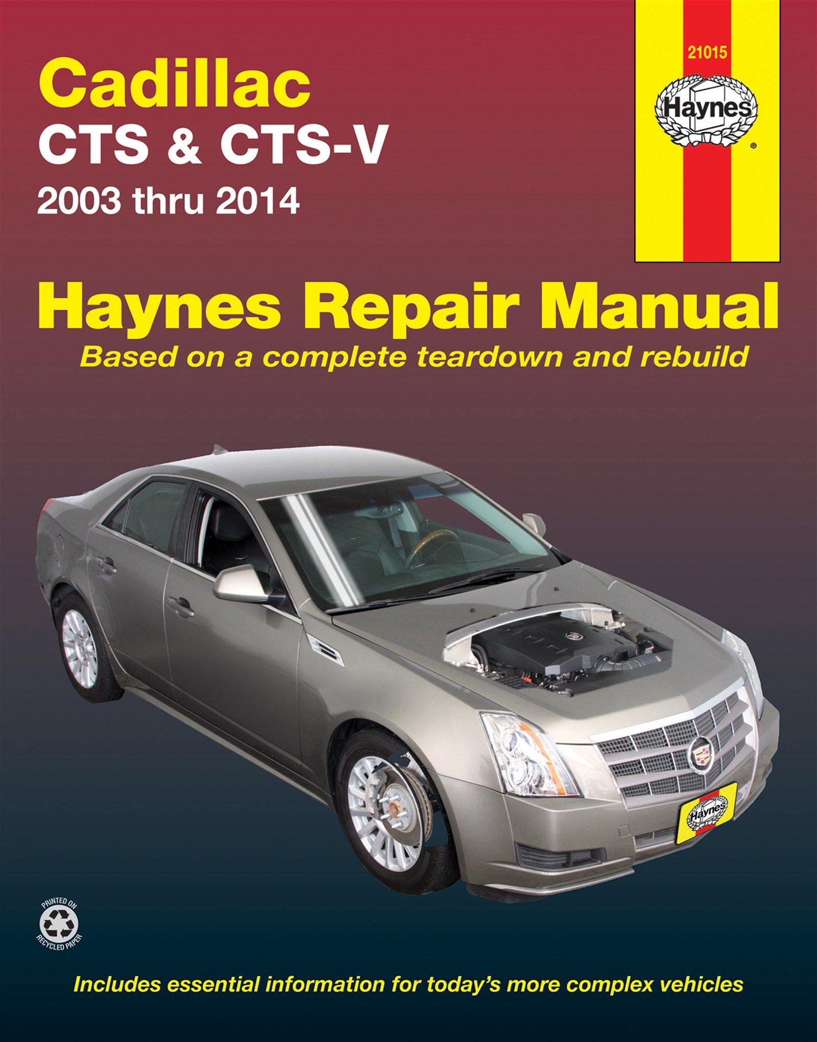 [Manuel US en Anglais] Cadillac CTS & CTS-V  '03 -  '14