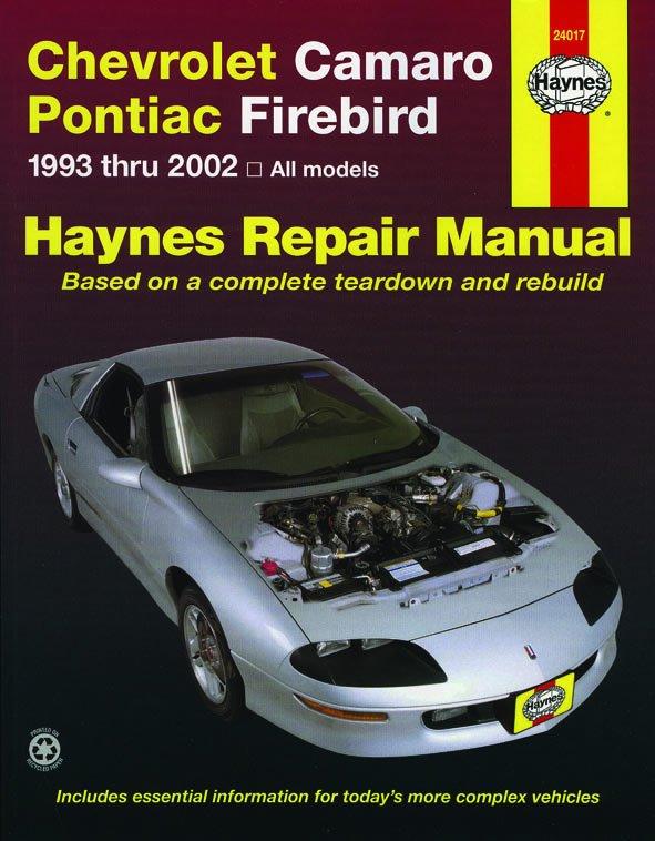 [Manuel US en Anglais] Chevrolet Camaro & Pontiac Firebird  '93 -  '02