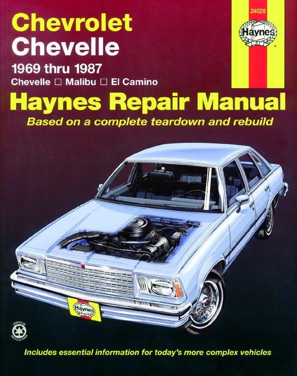 [Manuel US en Anglais] Chevrolet Chevelle  '69 -  '87