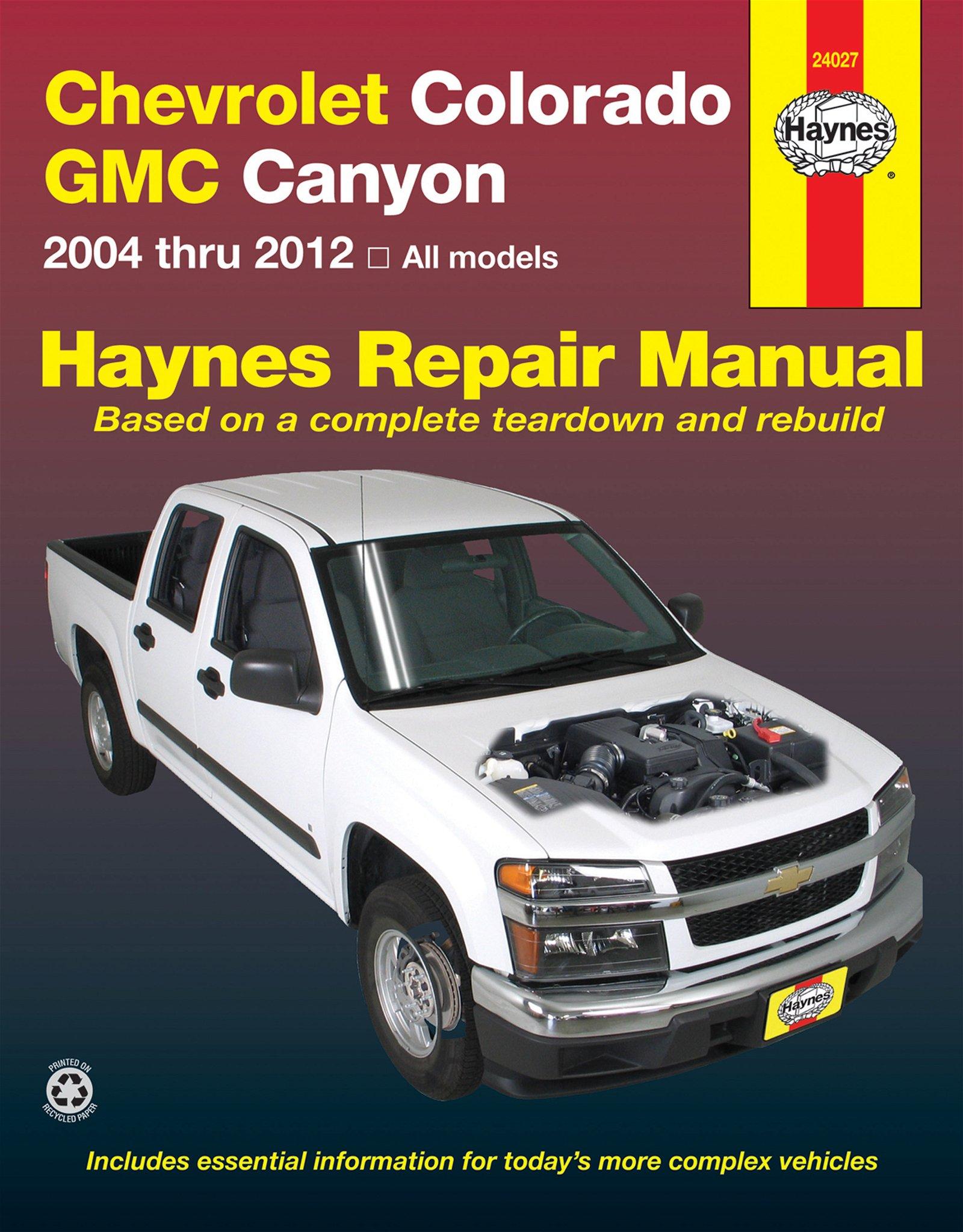 [Manuel US en Anglais] Chevrolet Colorado & GMC Canyon  '04 -  '12
