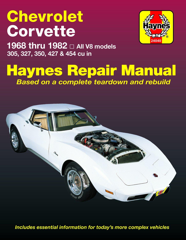 [Manuel US en Anglais] Chevrolet Corvette  '68 -  '82