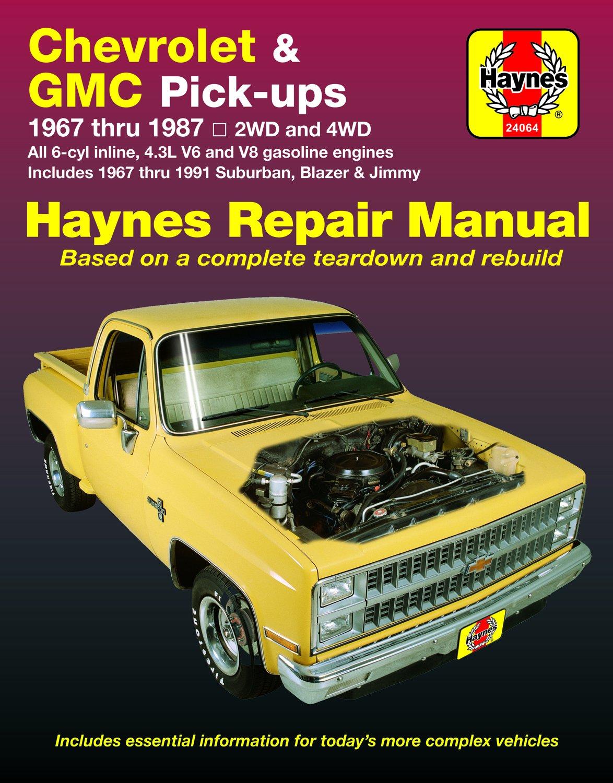 [Manuel US en Anglais] Chevrolet & GMC Pick-ups  '67 -  '87