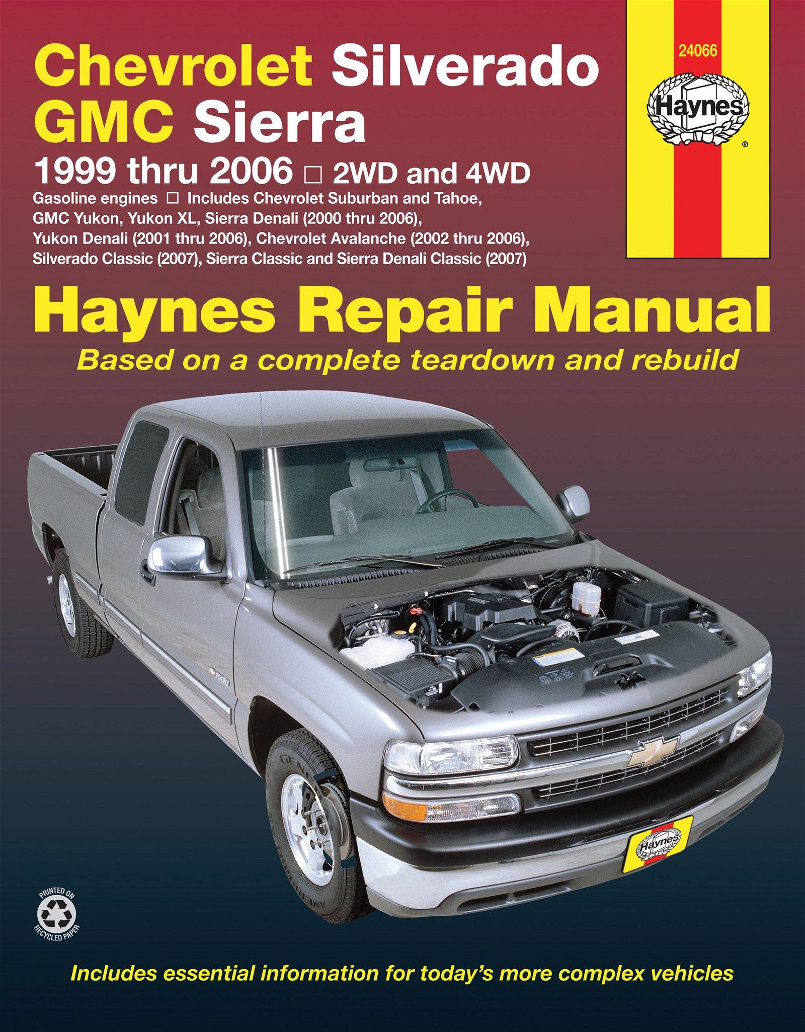 [Manuel US en Anglais] Chevrolet Silverado Pick-up  '99 -  '06