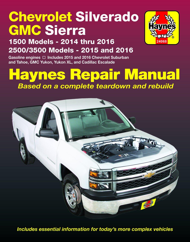 [Manuel US en Anglais] Chevrolet Silverado  '14 -  '16 & GMC Sierra  '15 -  '16