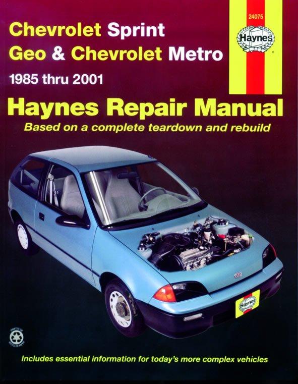 [Manuel US en Anglais] Chevrolet Sprint & Geo Metro  '85 -  '01