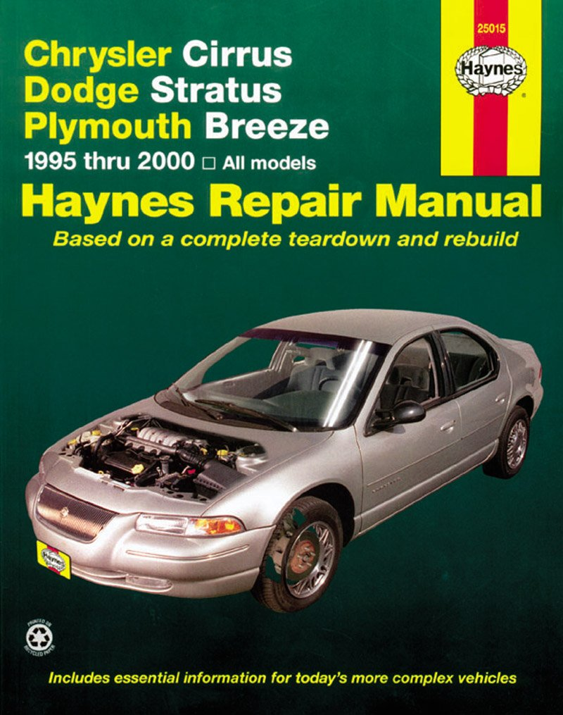 [Manuel US en Anglais] Chrysler Cirrus/Dodge Stratus/Ply. Breeze  '95 -  '00