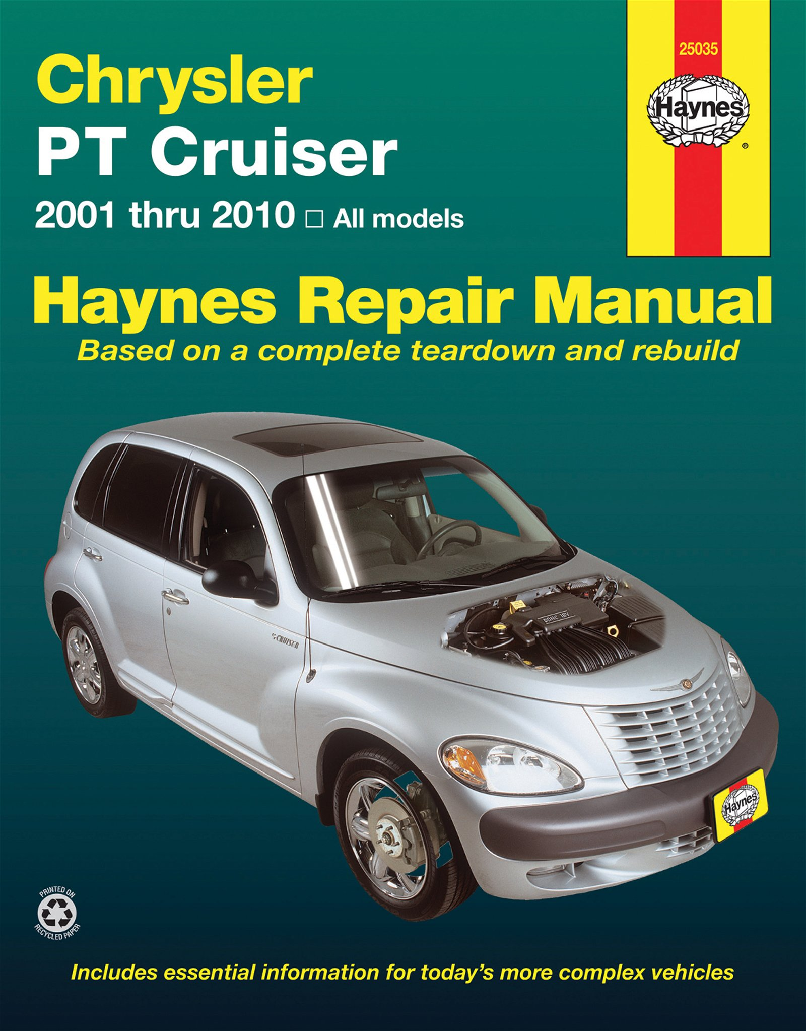 [Manuel US en Anglais] Chrysler PT Cruiser  '01 -  '10