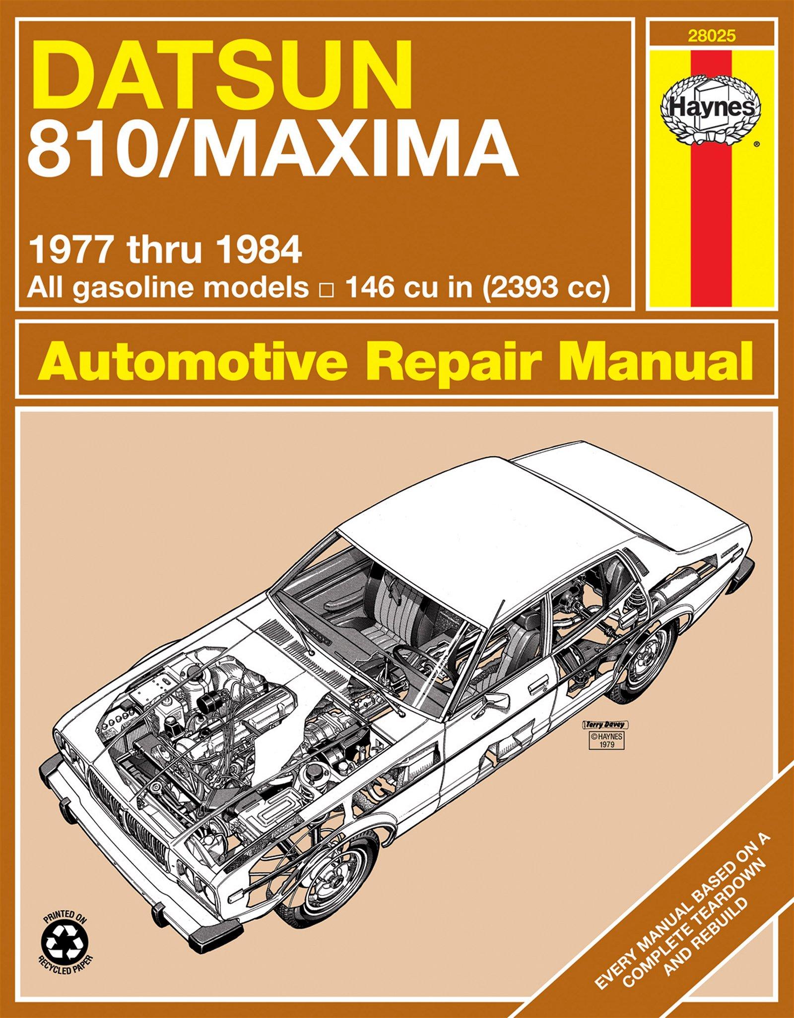 [Manuel US en Anglais] Datsun 810/Maxima  '77 -  '84